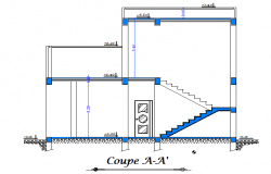 Section home dwg file
