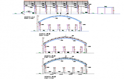 Section ice planthielmar plan detail dwg file,