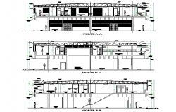 Section offices institute of these plan detail dwg file