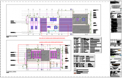 Section plan elevation design of residence project