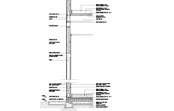Section steel plan detail dwg file.