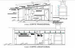 Section toilet detail dwg file
