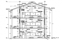 Sectional detail dwg file