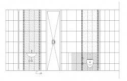 Toilet Plan In DWG File