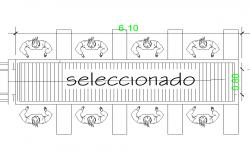 Selected plan detail dwg file