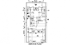 Service home plan layout file