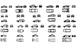 Set car detail dwg file