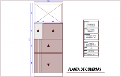 Set plan with detail view for housing dwg file