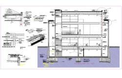 Several plan detail dwg file