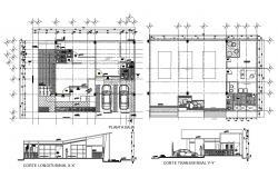 Shop Floor Plan CAD File