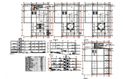 Shopping Center project dwg file