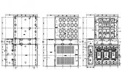Shopping Mall Building Layout Plan Design