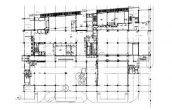 Shopping Mall Business Hub Building Design Plan