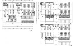 Shopping Mall Plan DWG File