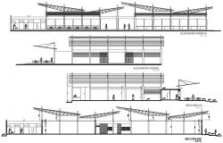 Shopping Mall Plan and Design CAD file
