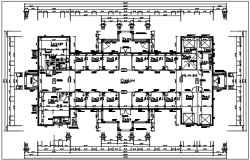 Shopping mall plan layout details dwg file