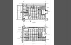 Shopping mall washrooms plan and installation details dwg file