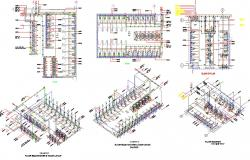 Shower And Toilet Layout Plan AutoCAD File