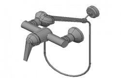 Shower Mixer Tap  3d file