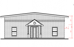 Simple House Elevation detail