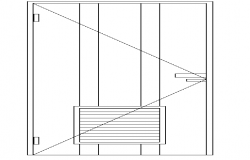 Single Door Elevation Design
