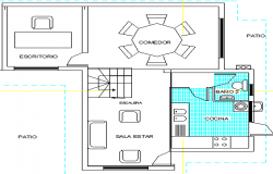 Single Family Residential House Structure Details dwg file