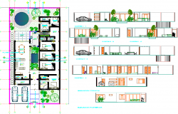 Single Level Residence Plan