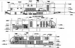 house drawing in autocad