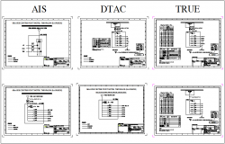 Single phase electrical diagram of hotel bangkok  dwg file