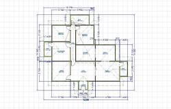Single story floor plan 4