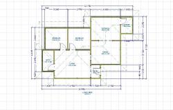 Single story floor plan 5
