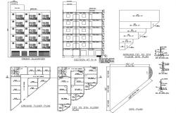 Site Plan Elevation Drawings