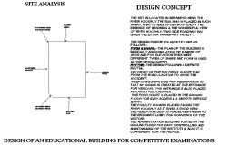 Site analysis detail dwg file