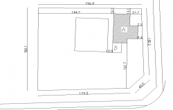 Site location plan autocad file
