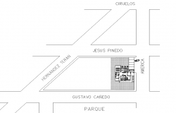 Site plan detail