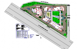 Site plan north direction autocad file
