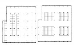 Site plan of shopping centre