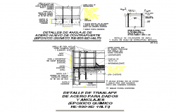 Site telecommunications roof section autoacd file