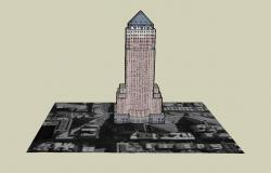 Sketchup file of high rise building