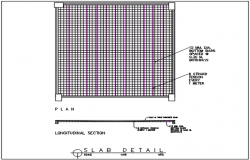Slab detail dwg file