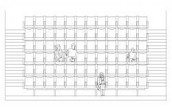Small Auditorium Plan CAD File