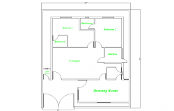 Small House layout plan