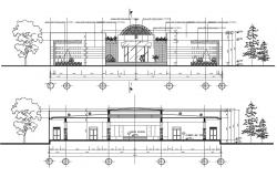 Small Shop Elevation