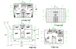 Small house planning layout file