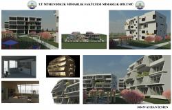 Social Housing Apartment dwg file