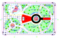 Social projection park layout file