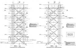 South And North Side  Factory Elevation PDF File Free Download