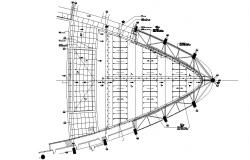 Span Roof Structure Drawing