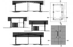 Span Structure AutoCAD File