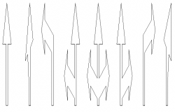 Spire horizontal signaling design drawing